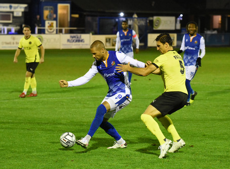 Report - Wealdstone 2 - 5 Stockport County