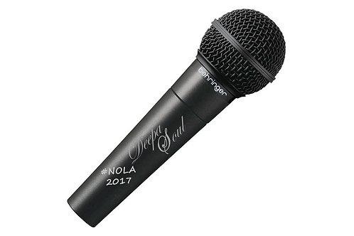 Autographed Deepa Soul Microphone