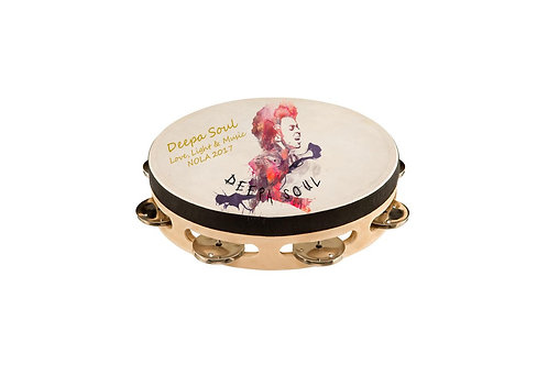 Autographed Deepa Soul Tambourine