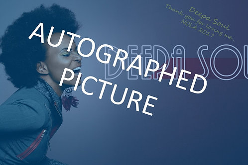 Autographed Limited Edition Photo