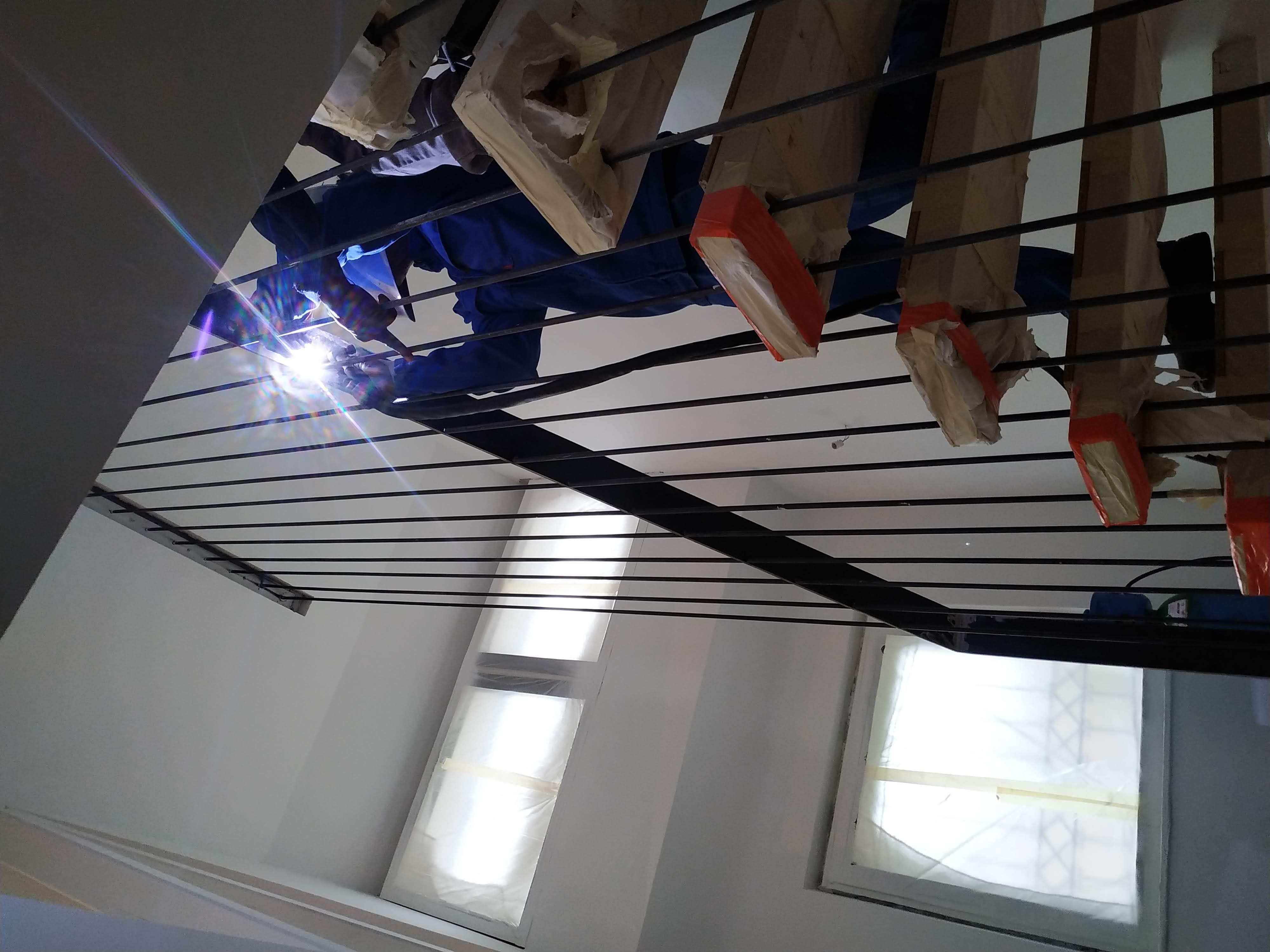 Escalier-Ferronnerie