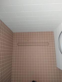 Caniveau de douche à carreler