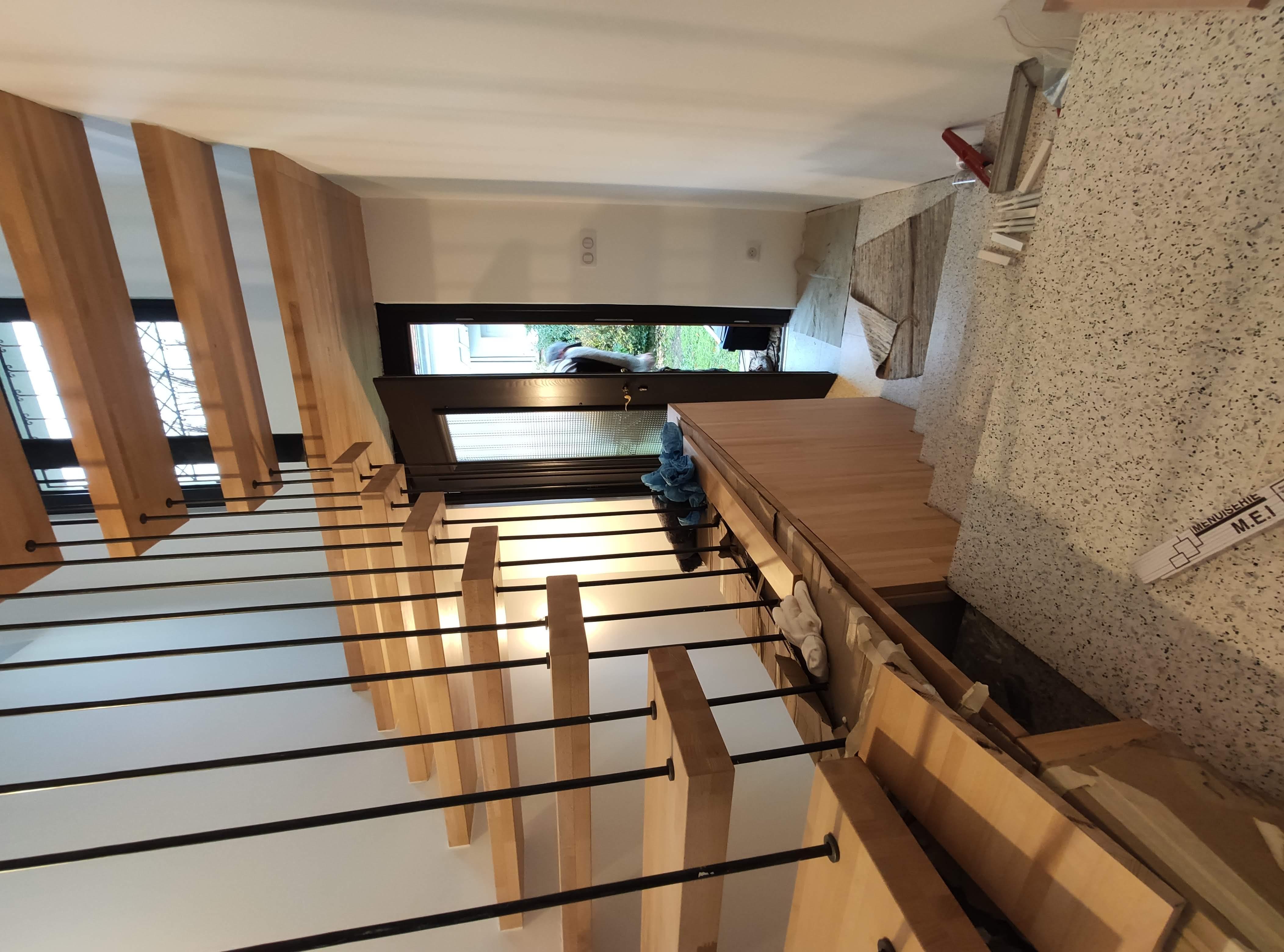 Escalier-Menuiserie