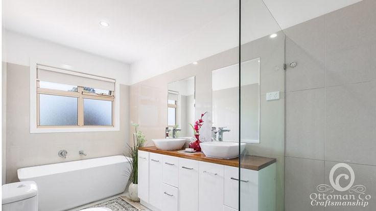 Simple beautiful bathroom interior