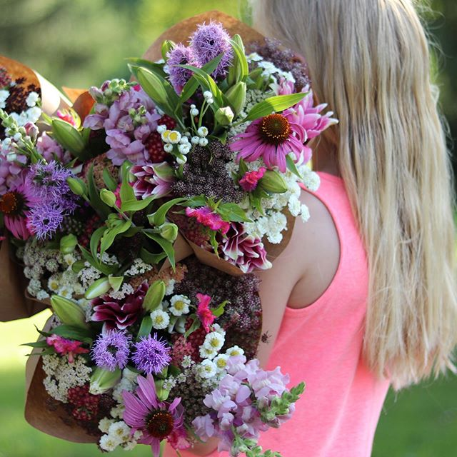 Did you miss the lily bouquets last week