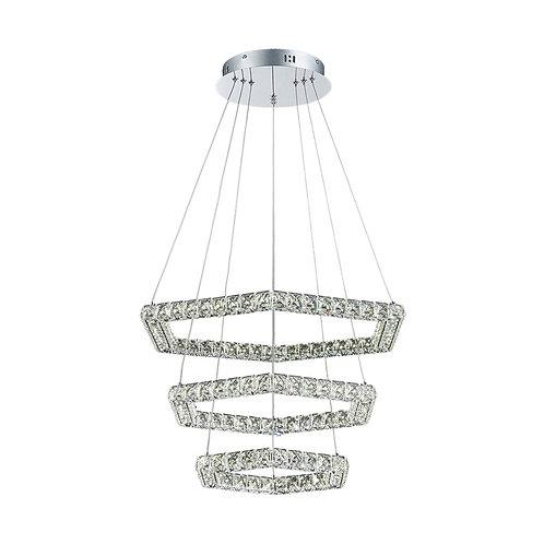 LED Comb 68watt Crystal Pendant Light