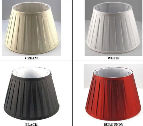 Pleated shades - Assorted colours