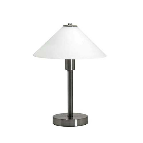 Ohio Touch Lamp - Nickel