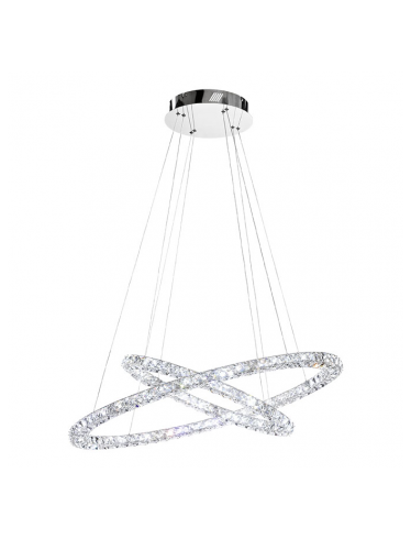 Toneria LED Crystal Chandelier