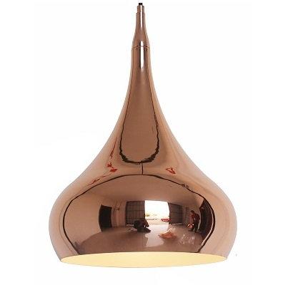 Cambridge 1 Light Copper Aluminium Pendant