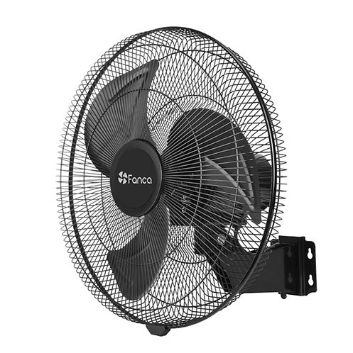"Fanco Semi-Commercial DC 18"" (450mm) Wall Fan - Black"