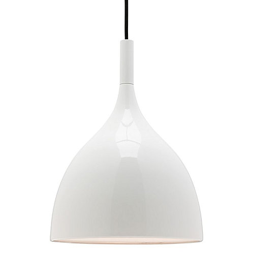 Mantra 1 Light white Pendant