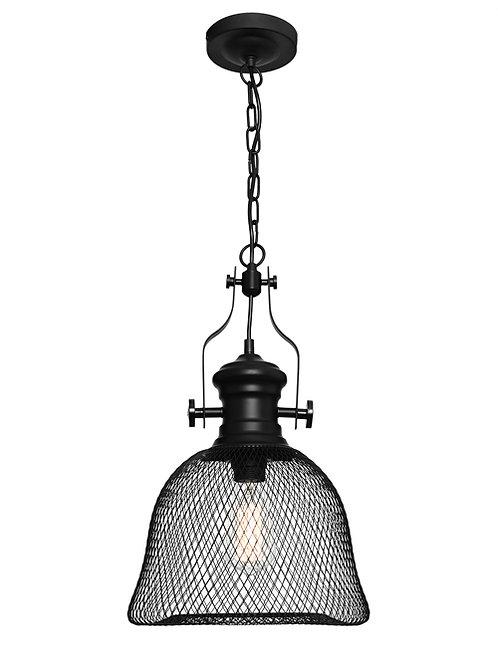 Argyle small black mesh 1lt large pendant