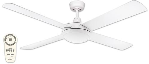 "Martec Lifestyle DC 24watt LED 52"" (1300mm) Ceiling Fan - White"