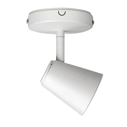 Zoom 1 Light GU10 White - Adjustable Head
