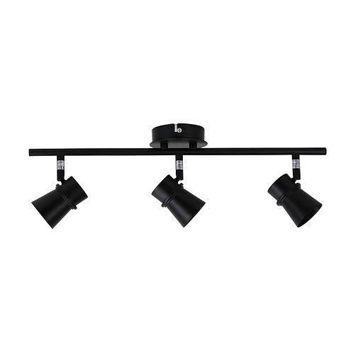 Yarra 3 Light GU10 black - adjustable spotlight