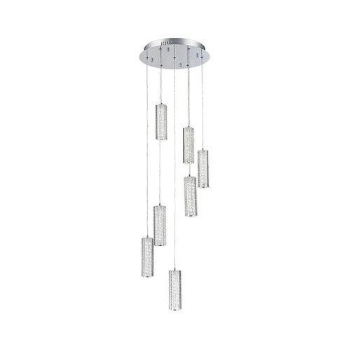 LED Mania 7 Light Crystal Pendant