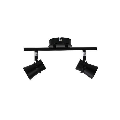 Yarra 2 Light GU10 black - adjustable spotlight