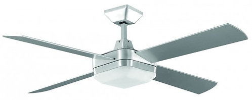 Quadrant 75w Square Ceiling Fan - Brushed Chrome