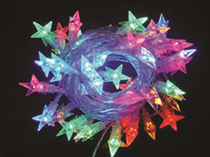 15m Colour Changing Star LED
