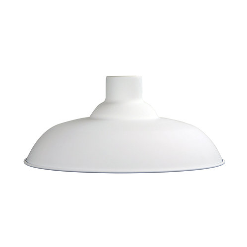 Slater 38 white metal shade