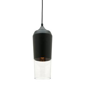 Slim black pendant