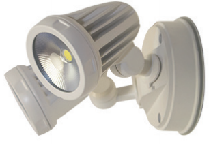 Fortress Twin Exterior Sensor Spot Light IP65