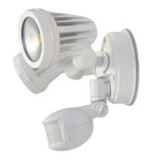 Fortress Twin Exterior Sensor Spot Light IP54