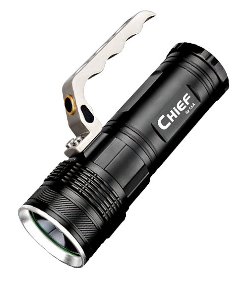 Chief - LED Waterproof rechargeable torch