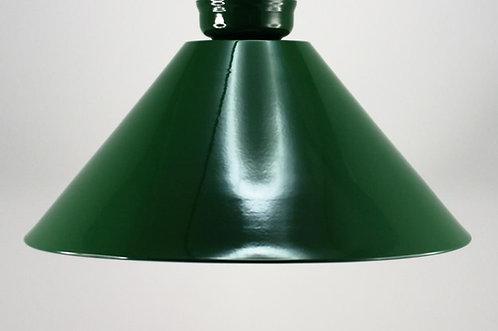 "14"" Green metal shade"