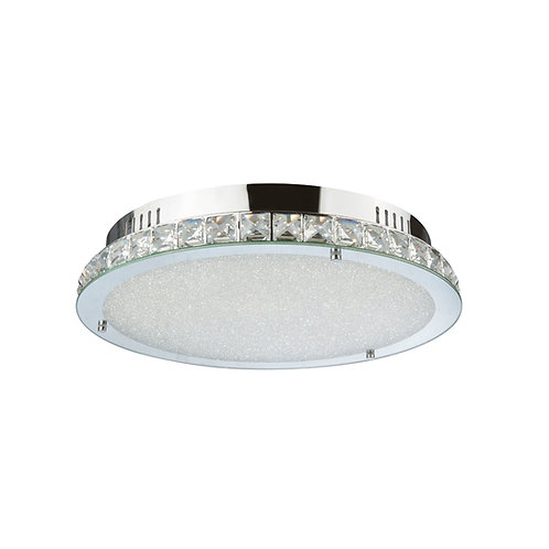LED Sparkle 24watt Crystal Ceiling Light