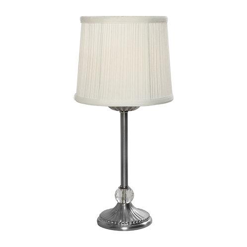 Mia Antique silver Table Lamp