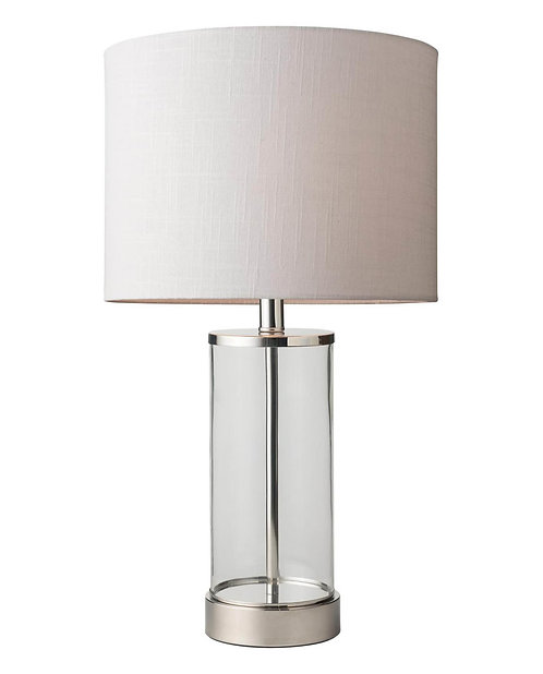 Sloane clear table lamp