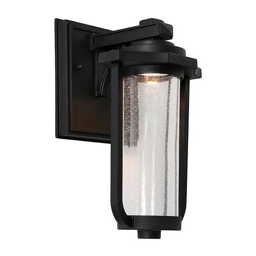 Hartwell LED black exterior wall light