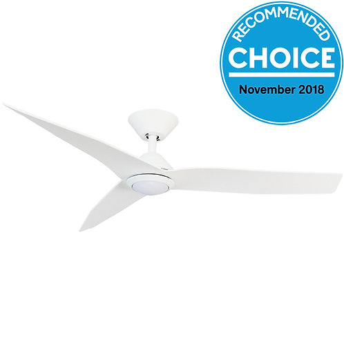 """Fanco Low Profile Infinity-i DC 48"""" (1220mm) Ceiling Fan with LED Light"""