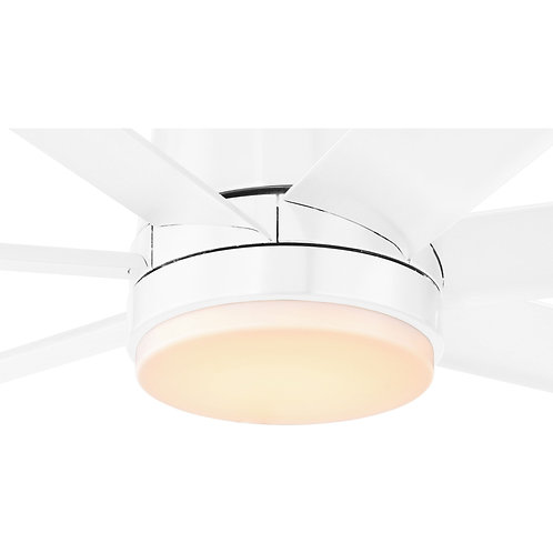 Tourbillion LED fanlight kit white