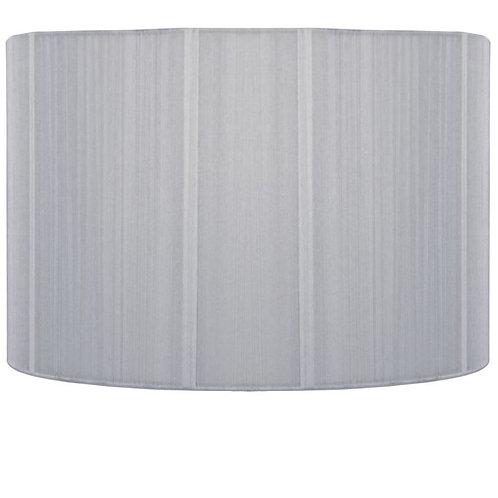Silver string drum shade