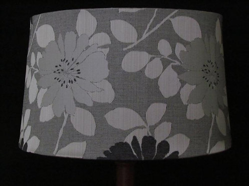 Drawstring tapered drum shade - custom order