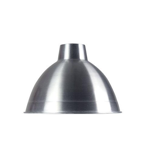 Yard 35cm polished aluminium metal shade