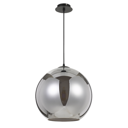 Bondi smoke 40cm sphere pendant