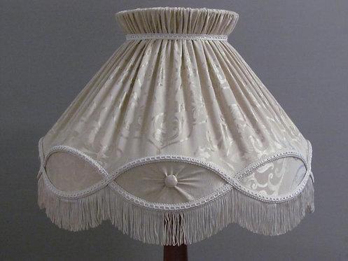 Buttoned ballerina shade - custom order