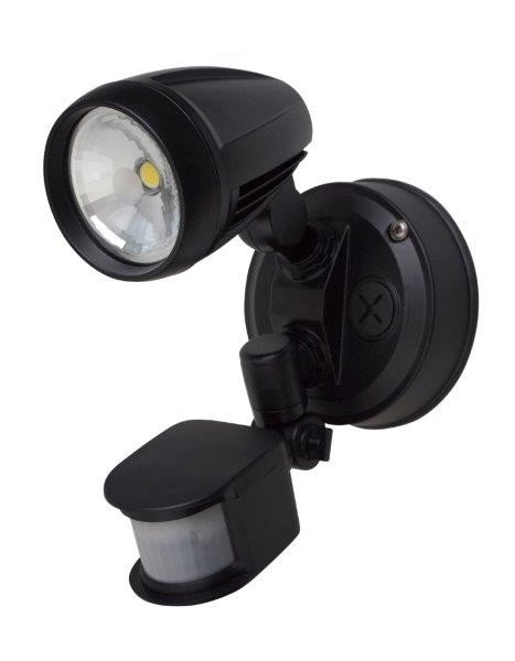 Single Exterior Sensor Spot Light