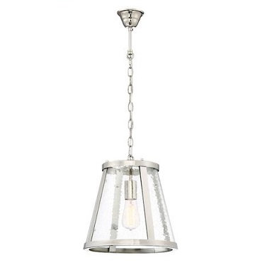 Lauren chrome 1lt pendant medium