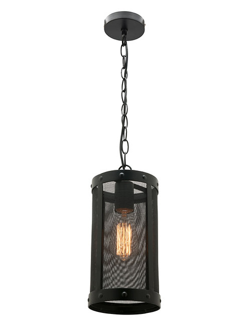 Ulrich black mesh 1lt pendant
