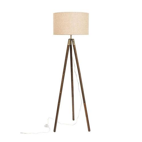 Prince timber tripod lamp