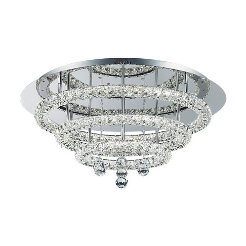 LED Horos 56watt Crystal Ceiling Light