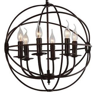 Cantina Black Cage Light Pendant