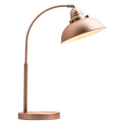 Manor Copper desk lamp