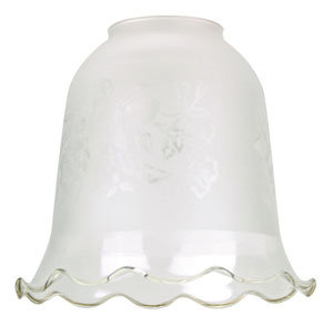 RG501 Frost etch bell glass