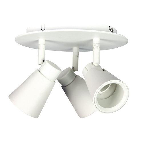 Zoom 3 Light GU10 White - Adjustable Head